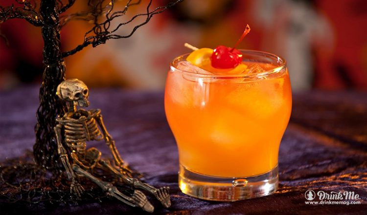 Zombie drinkmemag.com drink me 5 Classic Halloween Cocktails