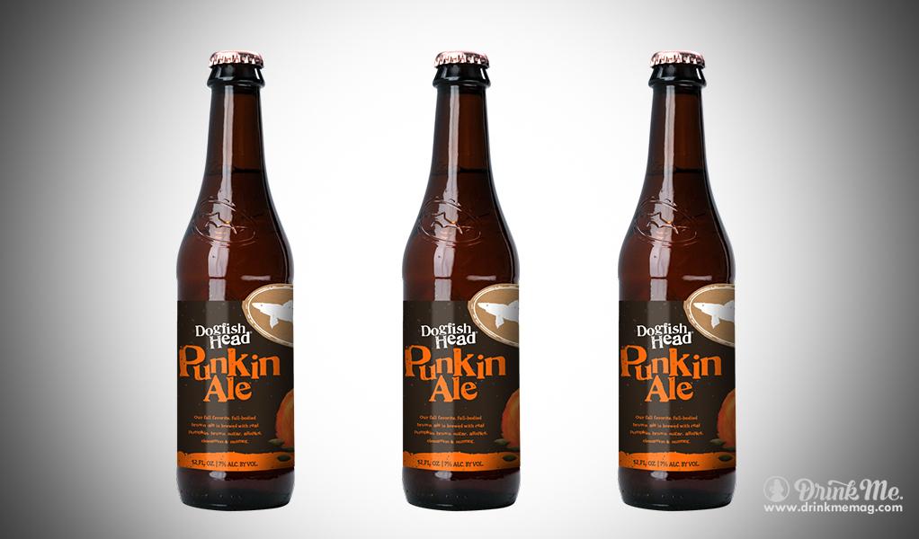 dogfish head punkin ale drinkmemag.com drink me Halloween Beers