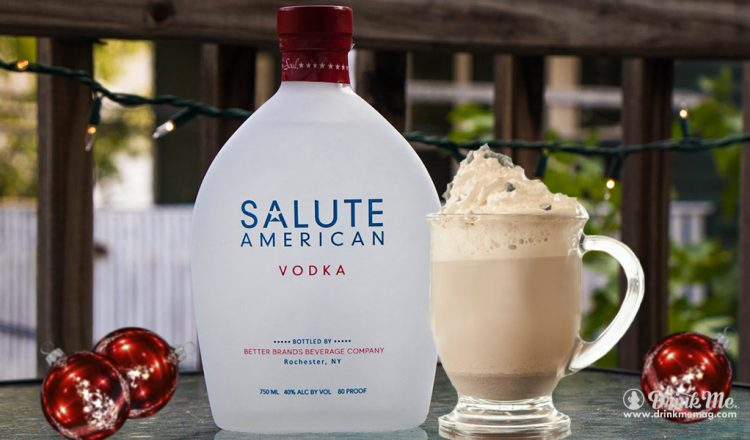American Hot Chocolate drinkmemag.com drink me Salute American Vodka Holiday Season Cocktail