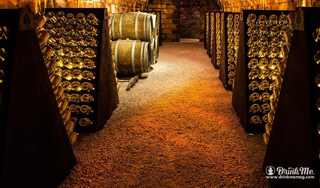 Armand de Brignac Cellar Image drinkmemag.com drink me Armand de Brignac