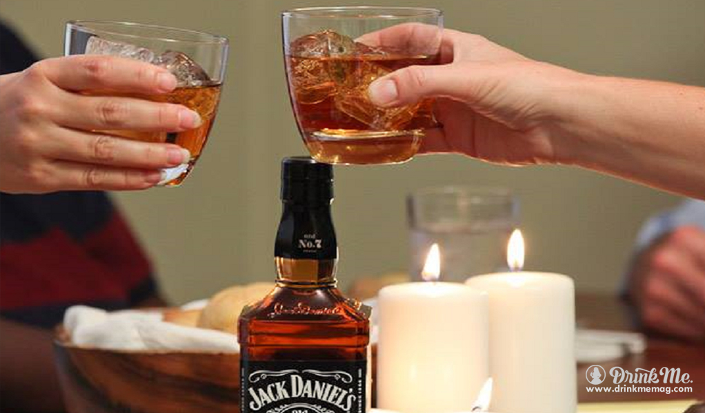 Best Served with Company drinkmemag.com drink me Jack Daniel's Winter Campaign