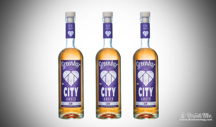City Amber Gin drinkmemag.com drink me Greenbar Distillery Campaign