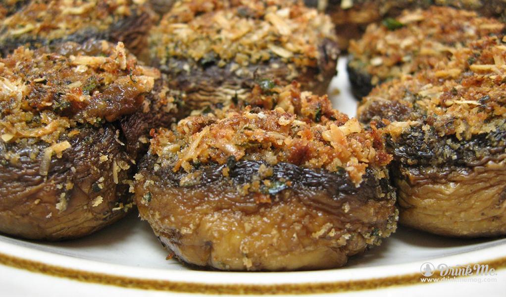 Easy Stuffed Mini Bello Mushrooms drinkmemag.com drink me Thanksgiving Leftover Meals