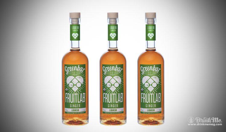 Fruitlab Ginger Liqueur drinkmemag.com drink me Greenbar Distillery Campaign