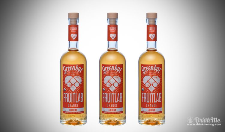 Fruitlab Orange Liqueur drinkmemag.com drink me Greenbar Distillery Campaign
