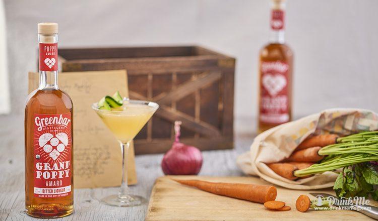 GRAND POPPY Amaro Griffith Cocktail drinkmemag.com drink me Greenbar Distillery Cocktail