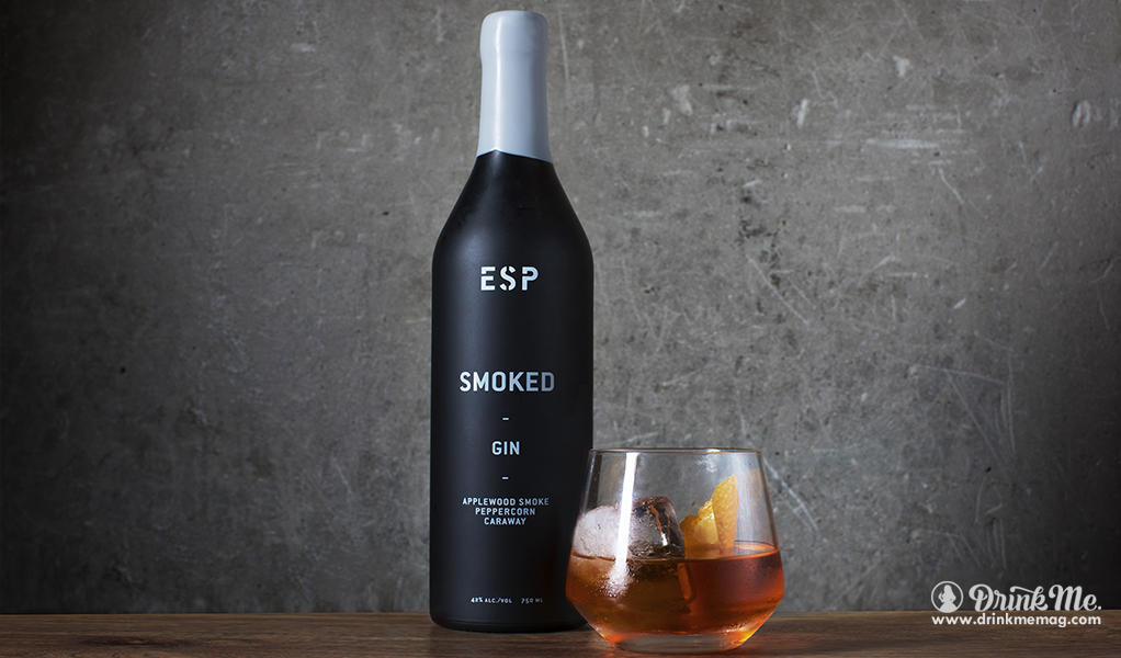 Ginhatten Smoked Cocktail drinkmemag.com drink me ESP Smoked Gin