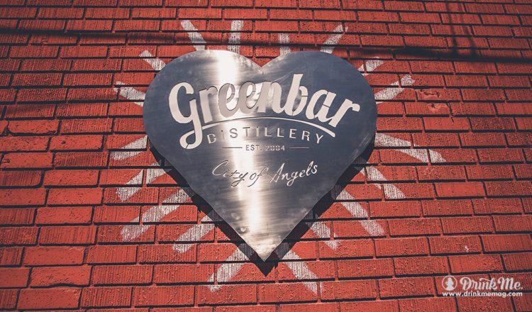 Greenbar Distillery Logo drinkmemag.com drink me Greenbar Distillery Campaign