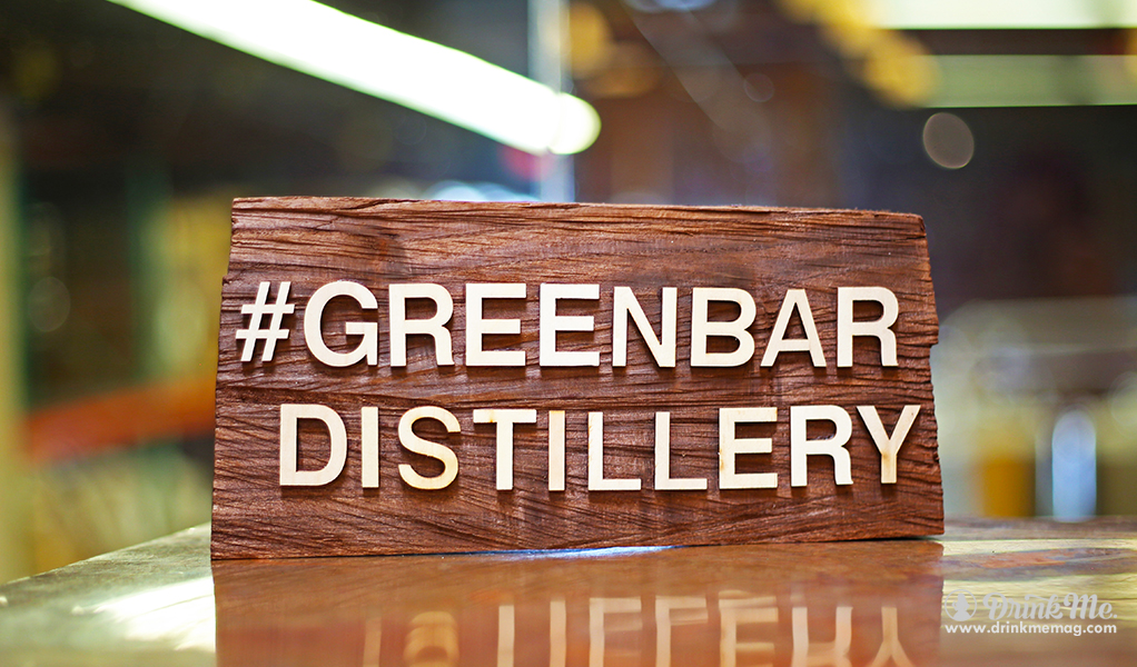 Greenbar Distillery Plaque drinkmemag.com drink me Greenbar Distillery