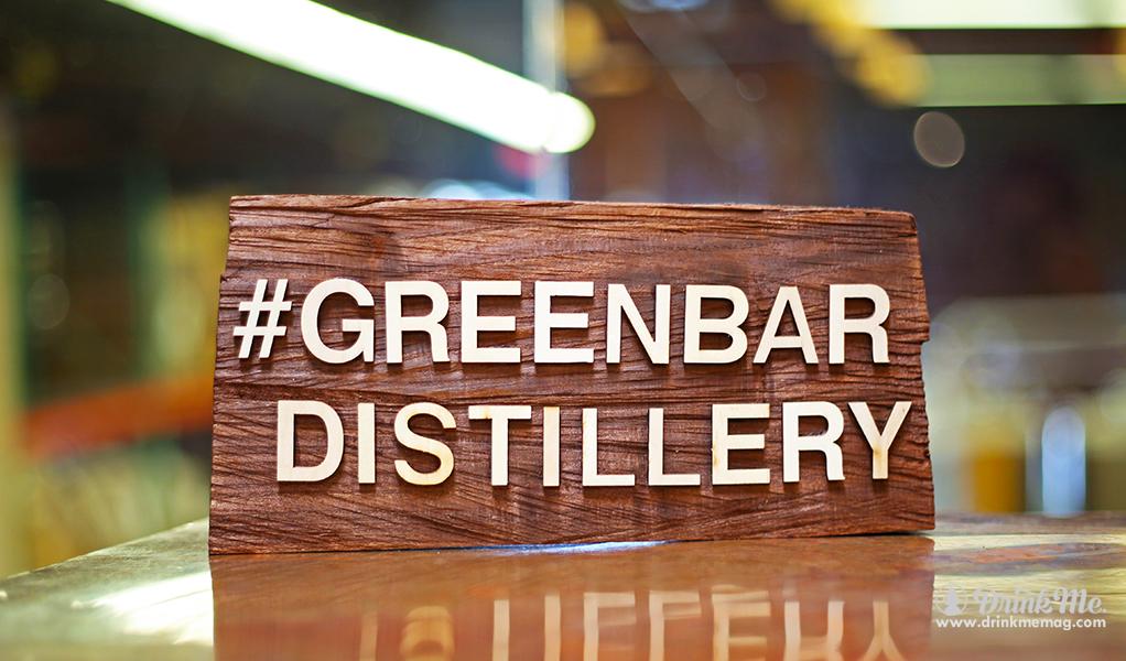 Greenbar Distillery Plaque drinkmemag.com drink me Greenbar Distillery