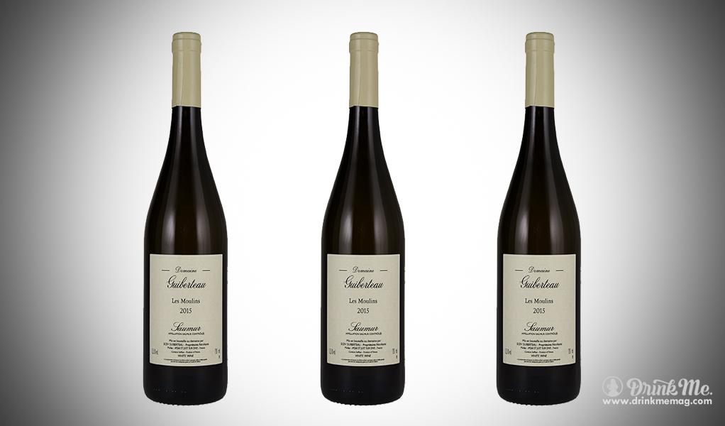 Guiberteau Saumur Blanc 2015 drinkmemag.com drink me Thanksgiving Wine Pairings