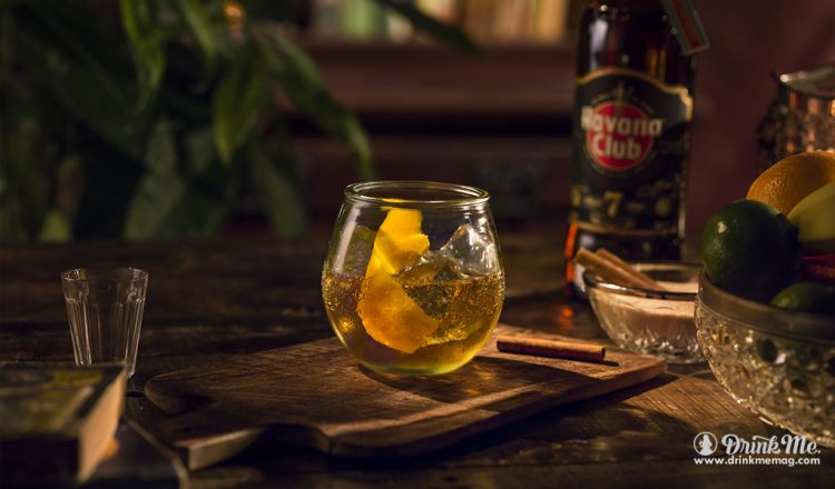 Havana Club Old Fashioned Week drinkmemag.com drink me Havana Club Old Fashioned Week