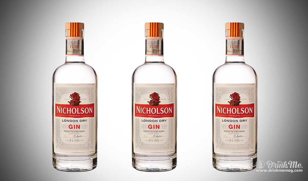 Nicjolson Gin drinkmemag.com drink me Nicholson Gin