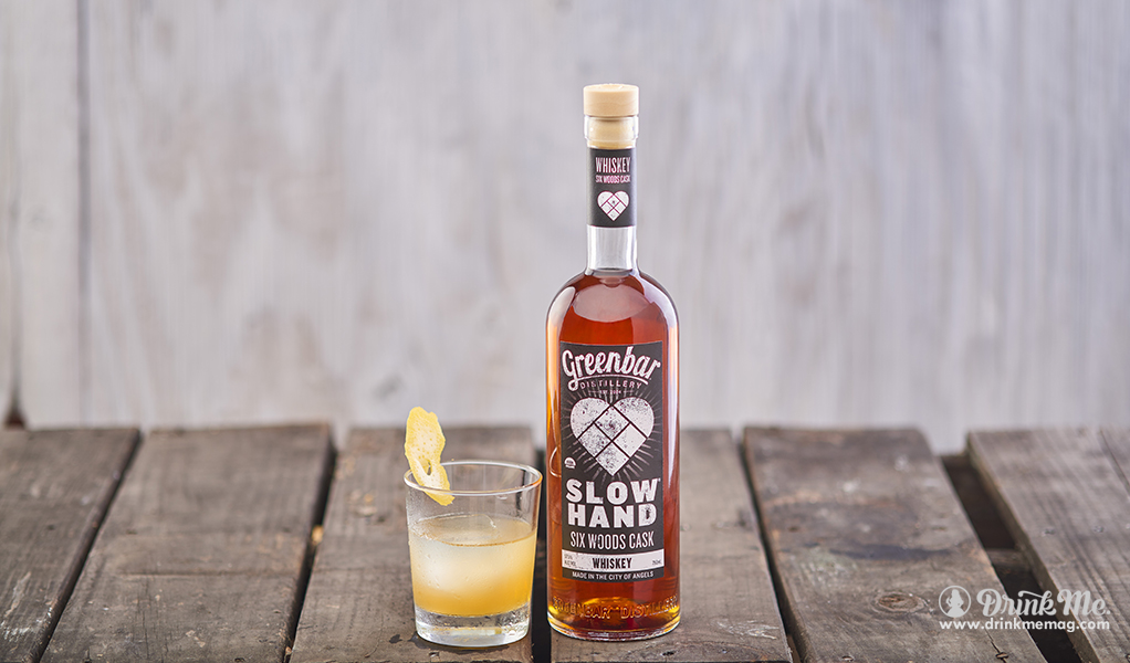 SLOWHAND Six Woods Cask Whiskey 4 drinkmemag.com drink me Greenbar Distillery Campaign