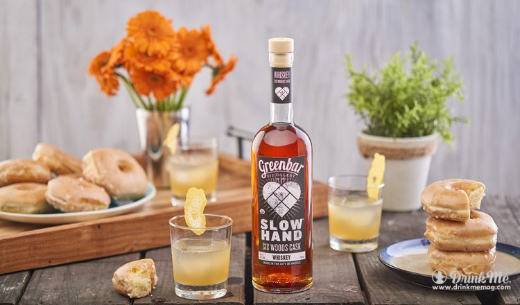 SLOWHAND Six Woods Cask Whiskey drinkmemag.com drink me Greenbar Distillery Campaign