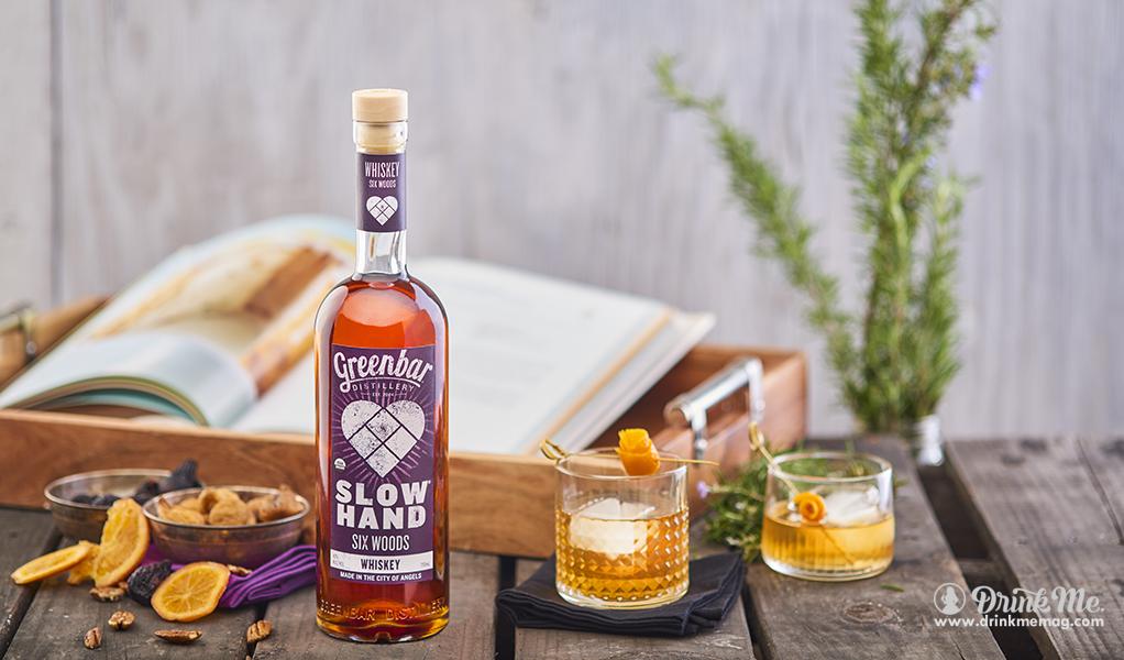 SLOWHAND Six Woods Whiskey drinkmemag.com drink me Greenbar Distillery Campaign