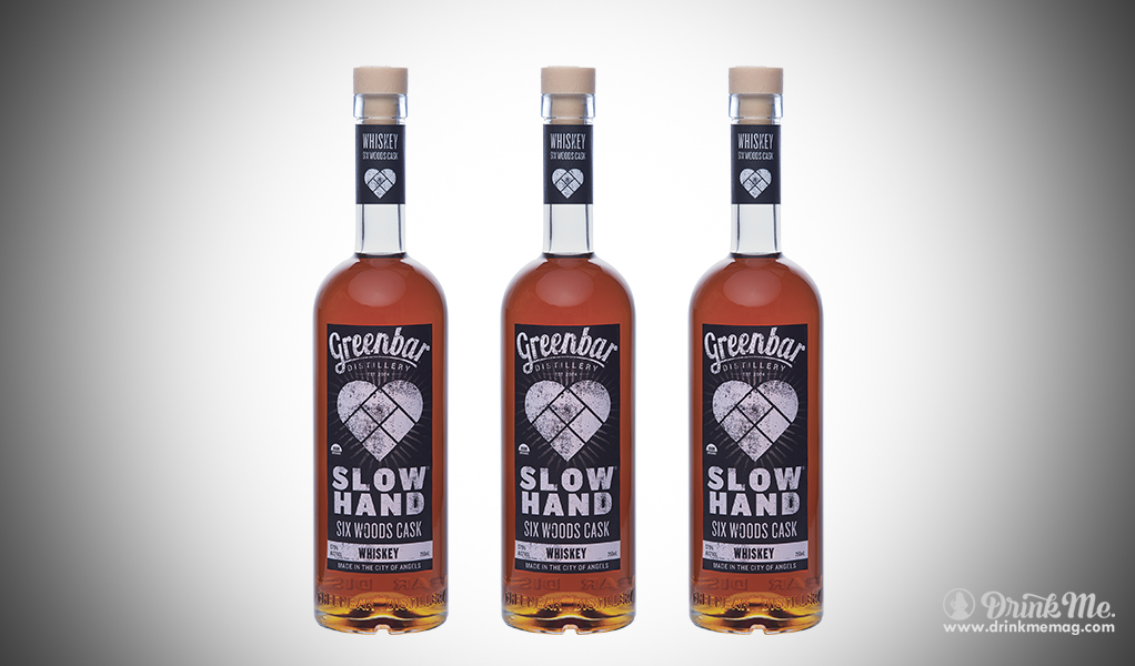 Slow Hand Six Woods Cask Whiskey drinkmemag.com drink me Greenbar Distillery Campaign
