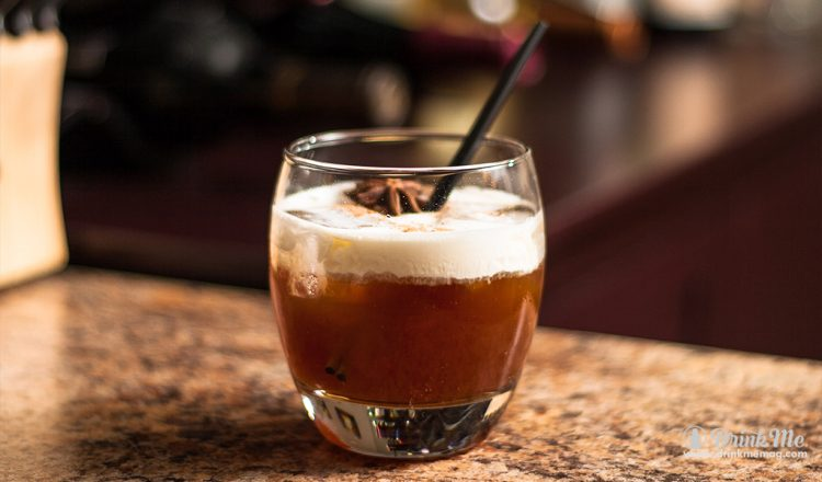 Spiked Gingerbread White Russian drinkmemag.com drink me Salute American Vodka Holiday Cocktails