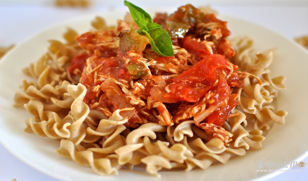 Turkey Cacciatore drinkmemag.com drink me Thanksgiving Leftover Meals