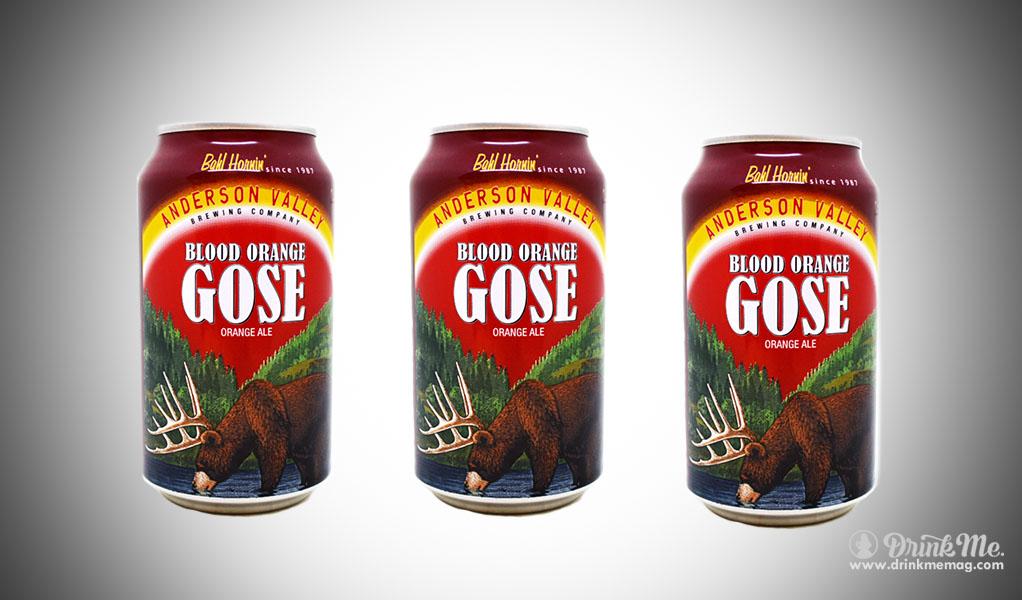 Anderson Valley Blood Orange Gose drinkmemag.com drink me Top 5 Beers to Crack Open on New Year