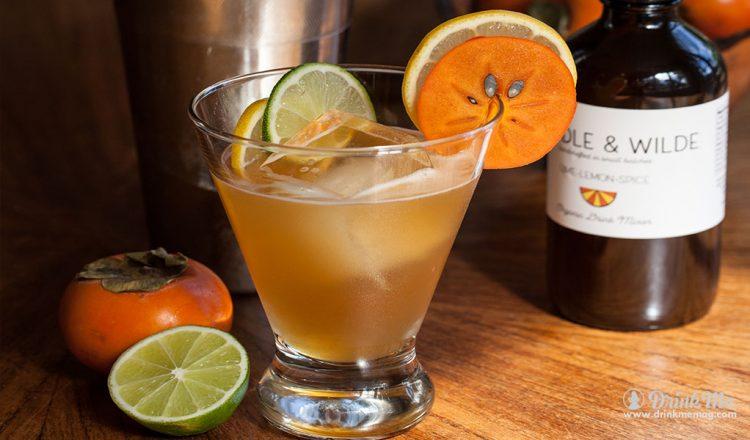 Lime-Lemon-Spice Martini drinkmemag.com drink me Winter Whiskey Cocktails