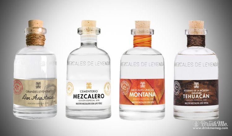 Mezcales de Leyenda drinkmemag.com drink me Mezcales de Leyenda