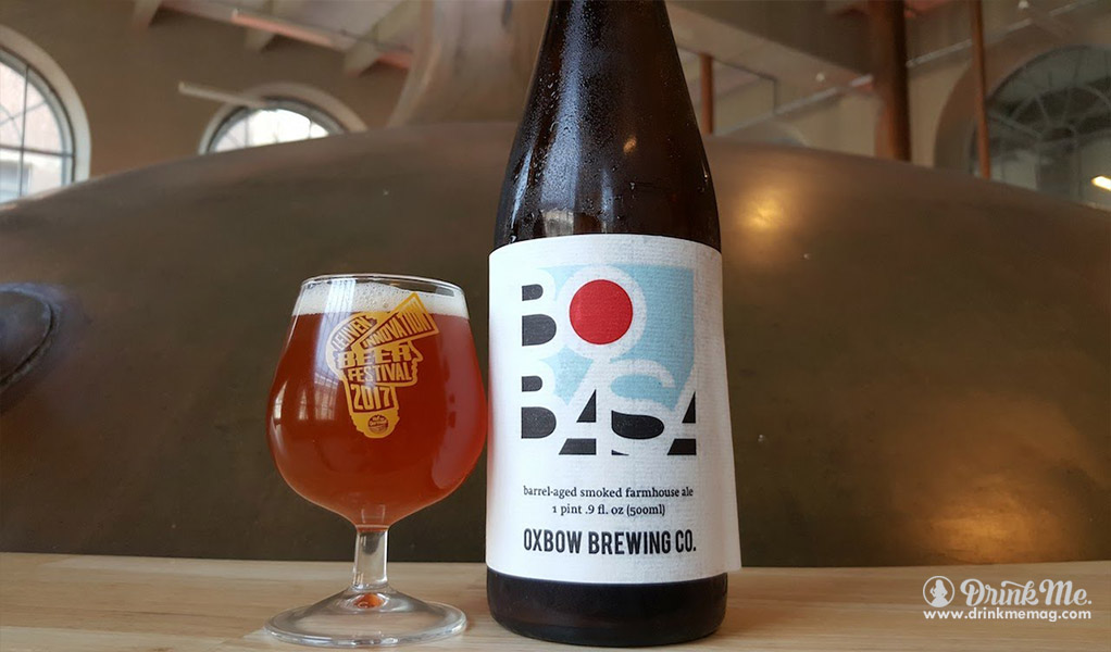 Oxbow Brewing Company's Bobasa drinkmemag.com drink me Top 5 Beers to Crack Open on New Year