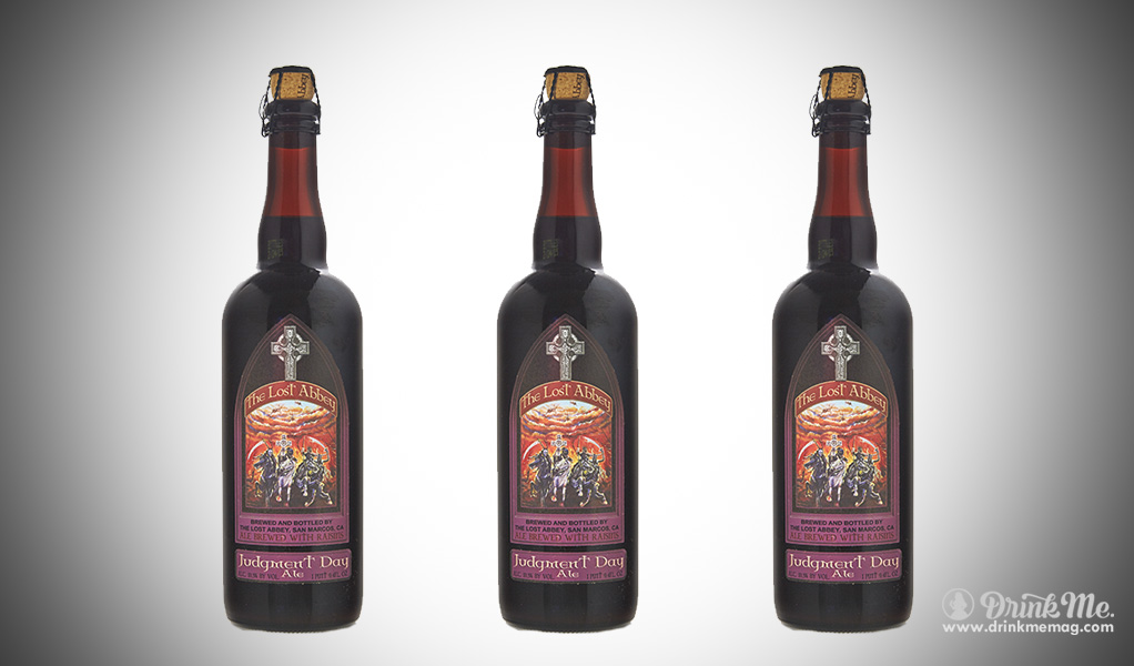 The Lost Abbey Judgement Day drinkmemag.com drink me Top 5 Beers to Crack Open on New Year