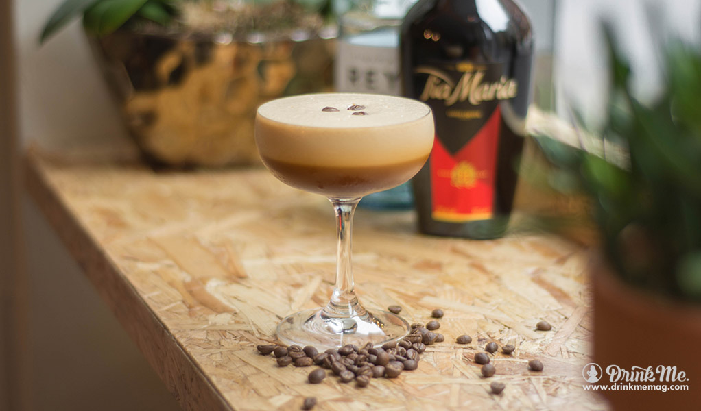 Tia Espresso Martini drinkmemag.com drink me Tia Maria Cocktails