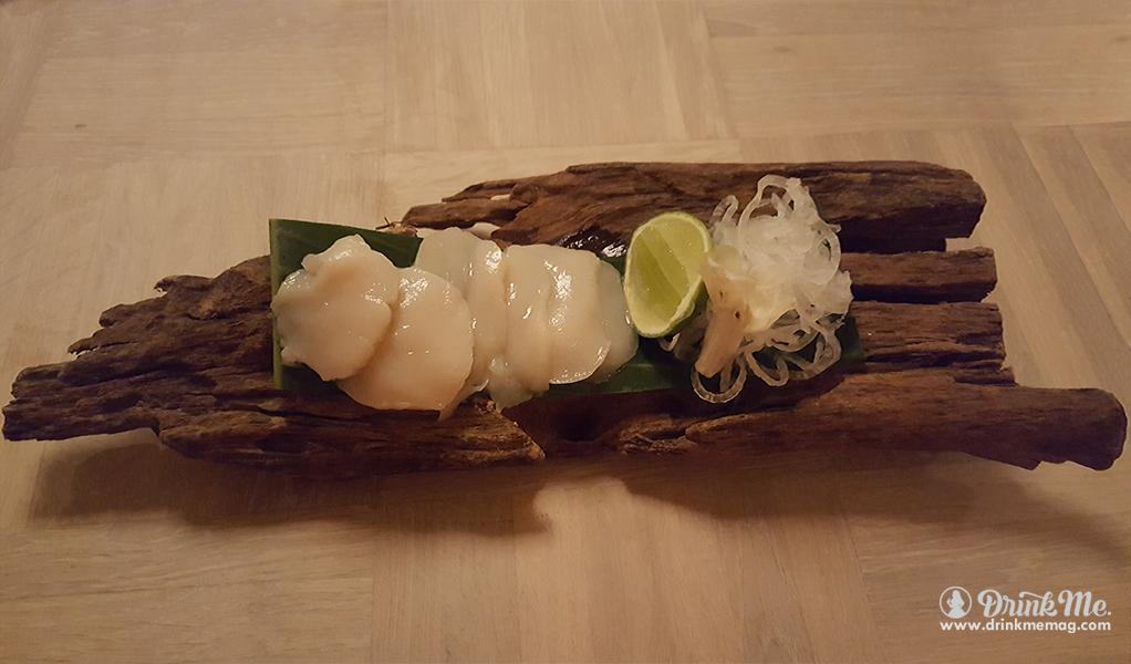 Hotate Sashimi drinkmemag.com drink me Australasia