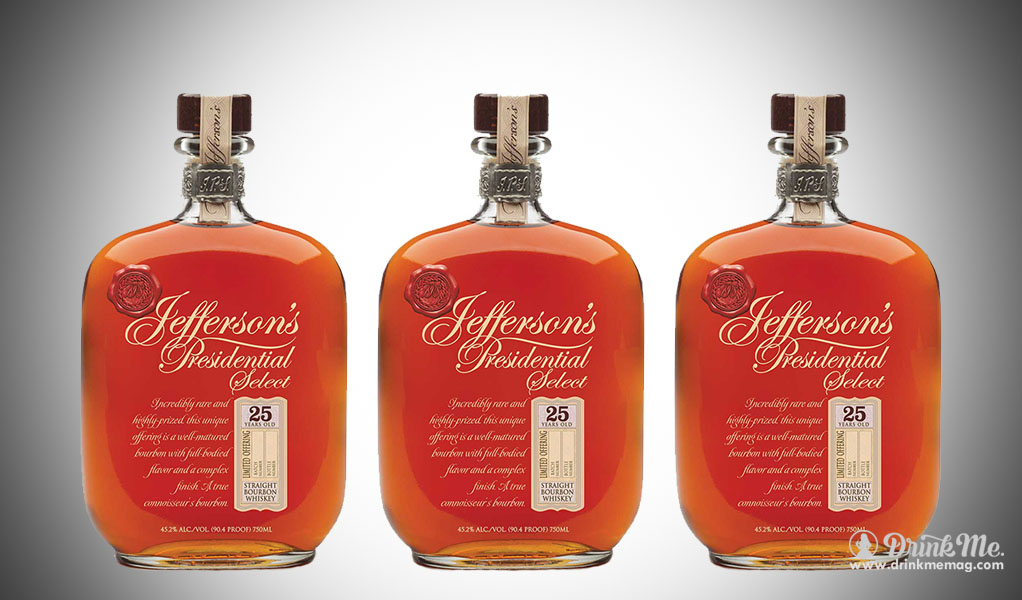 Jefferson's Presidential Select 25 Years old drinkmemag.com drink me Top Bourbon over $150