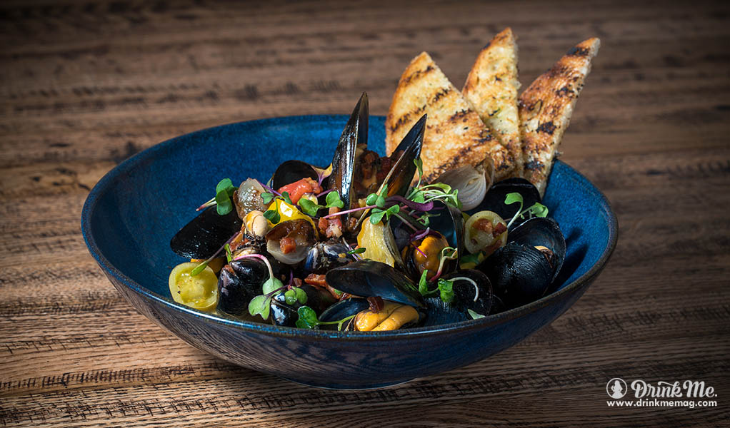 Napa Valley Grill Mussels drinkmemag.com drink me Napa Valley Grill Review