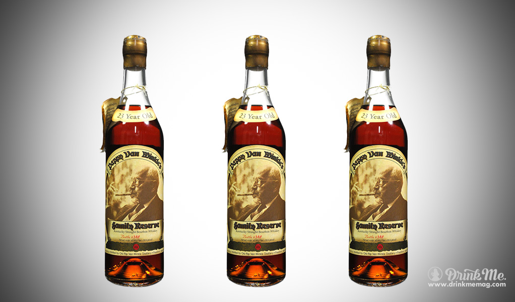 Pappy van Winkle 23 Years Old drinkmemag.com drink me Top Bourbon over $150