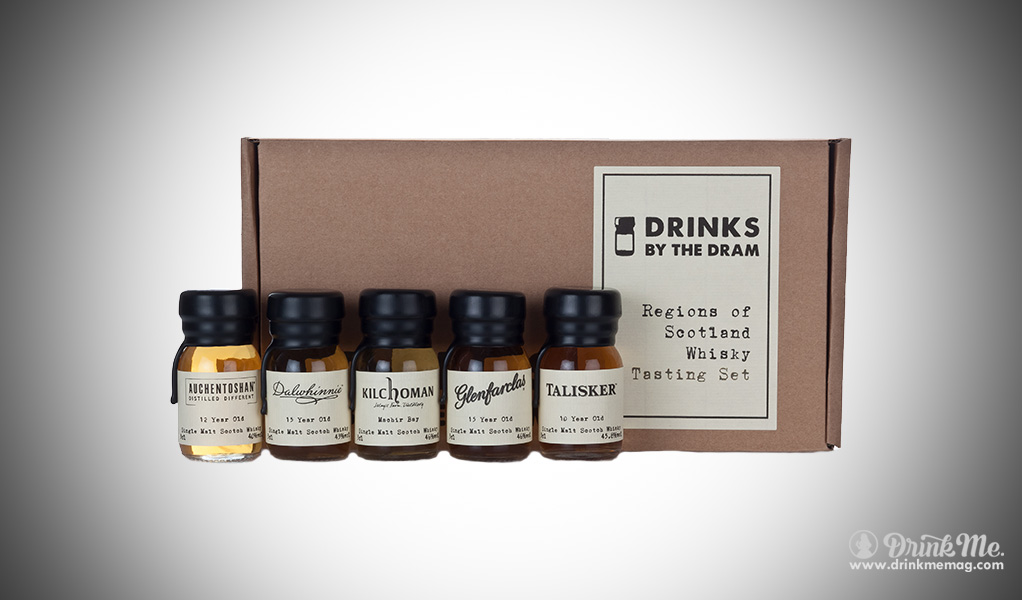 Regions of Scotland Whisky Tasting Set (Drinks by the Dram) drinkmemag.com drink me Burns Night Top List
