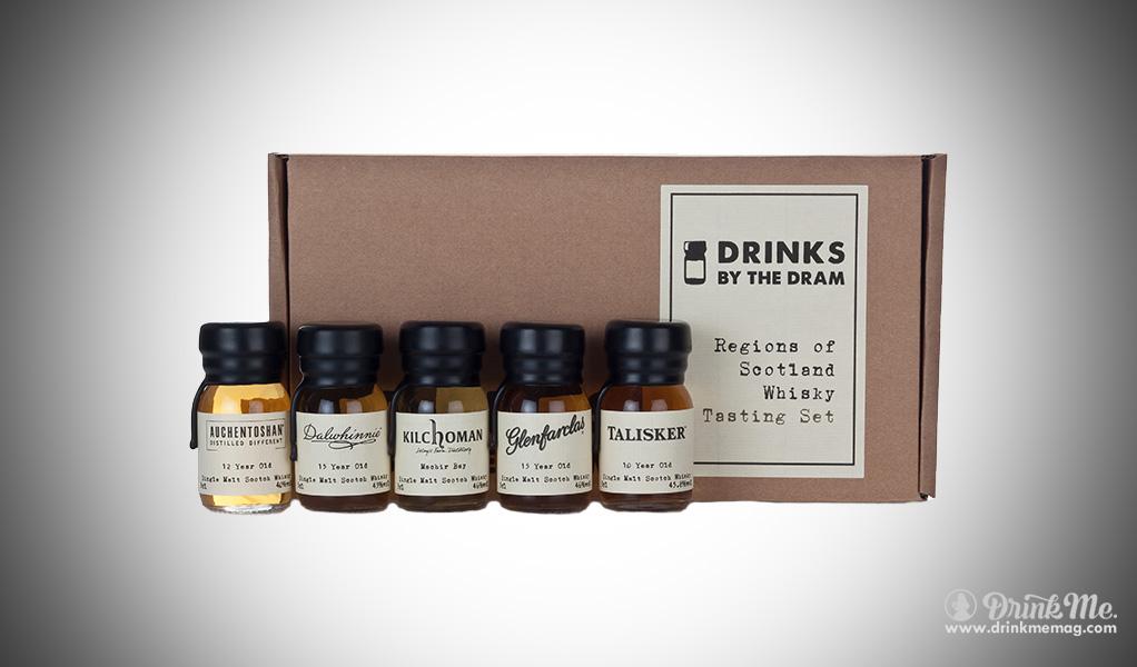 Regions of Scotland Whisky Tasting Set (Drinks by the Dram) drinkmemag.com drink me Burns Night Top List