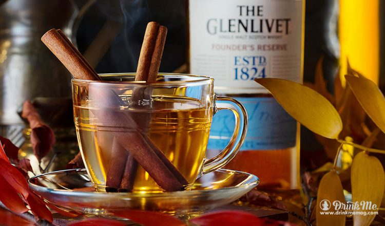 The Glenlivet Founder's Reserve Hot Cider drinkmemag.com drink me The Glenlivet Reserve