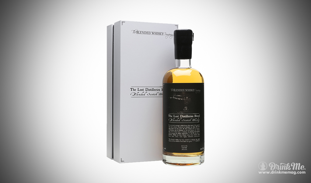 The Lost Distilleries Blend - the Blended Whisky Company drinkmemag.com drink me Burns Night Top List