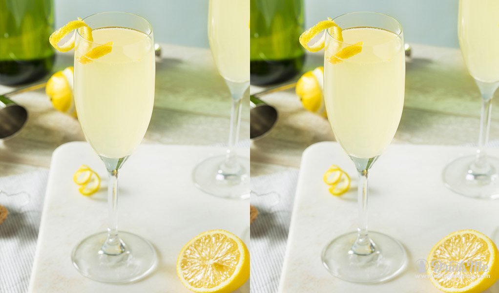 Cognac French 75 drinkmemag.com drink me Winter Cocktails