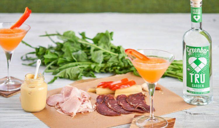 Garden Affair Cocktail Greenbar Distillery drinkmemag.com drink me Greenbar Distillery Spring Campaign