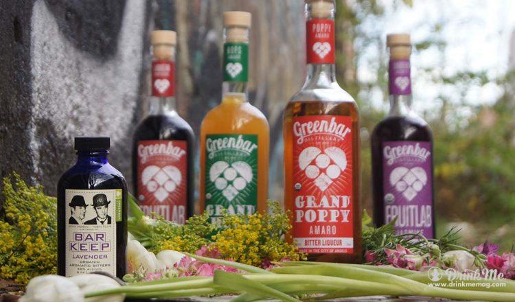 Greenbar Distillery Flower Spirits Greenbar Distillery drinkmemag.com drink me Greenbar Distillery Spring Campaign