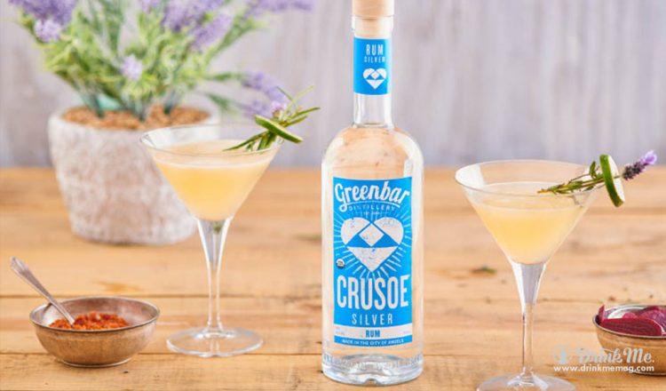 Lavender Daquiri Cocktail Greenbar Distillery drinkmemag.com drink me Greenbar Distillery Spring Campaign