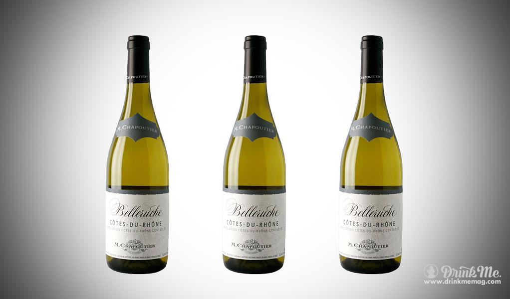 M. Chapoutier Côtes du Rhône Belleruche Blanc 2016 drinkmemag.com drink me Valentine Wine