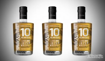 Spade and Bushel 10 year old cask Strength Irish whiskey drinkmemag.com drink me Spade & Bushel