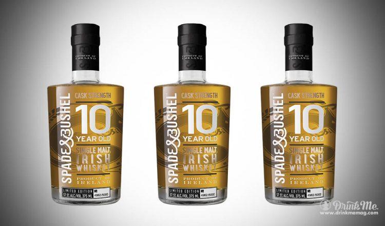 Spade and Bushel 10 year old cask Strength Irish whiskey drinkmemag.com drink me Spade & Bushel