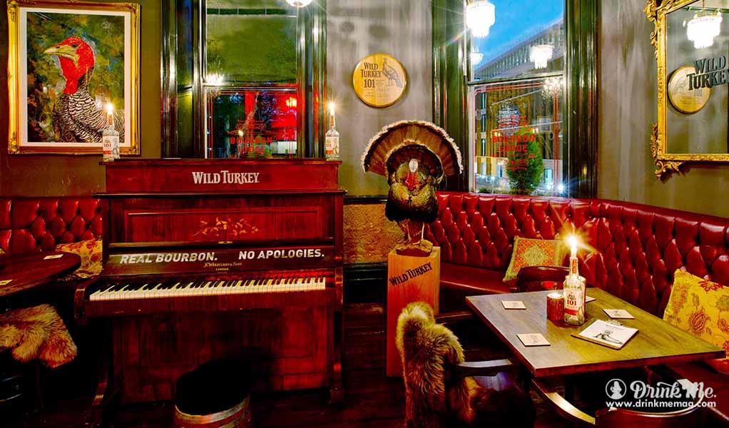 The Wild Turkey Bourbon Lodge at Ten Bells drinkmemag.com drink me Wild Turkey Lodge
