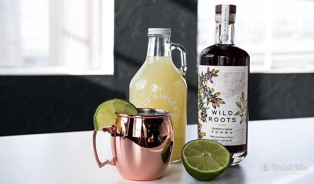 Wild Roots Huckleberry Vodka drinkmemag.com drink me Huckleberry Vodka Wild Roots
