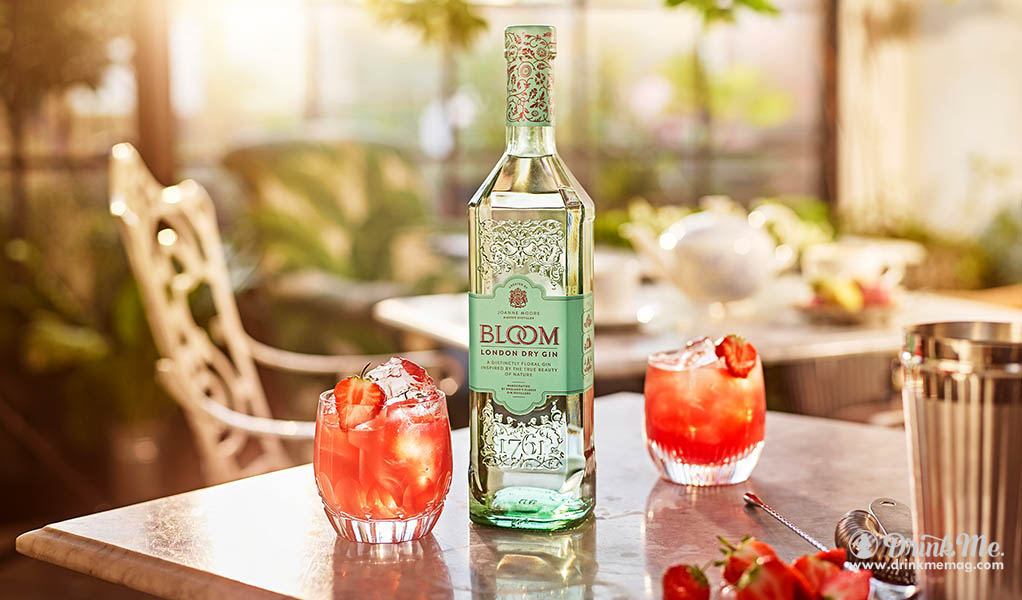 Bloom G&Tea drinkmemag.com drink me Celebration in Bloom Gin Cocktail Top List