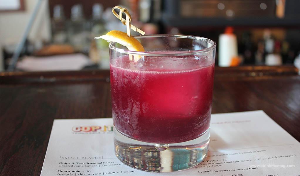 Copita Violetta drinkmemag.com drink me Easter Brunch Cocktails