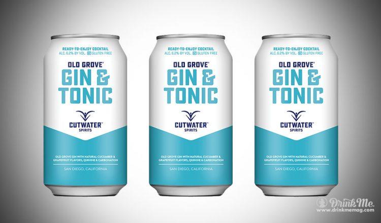 Cutwater Gin&Tonic drinkmemag.com drink me Cutwater Gin&Tonic