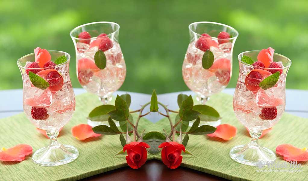 French Rose Sangria drinkmemag.com drink me Easter Brunch Cocktails